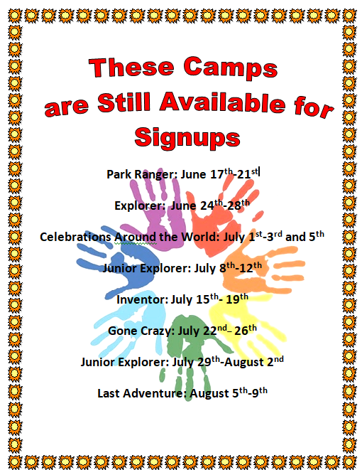 New camp hours
